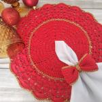 Crochet A Doily For Christmas