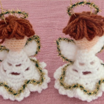 How To Crochet Christmas Angels