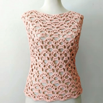 How To Crochet Sleeveless Blouse In All Sizes