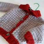 Crochet Cardigan For Baby Boys