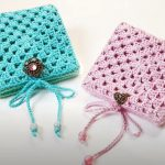 Crochet Lovely Wallet With Granny Square