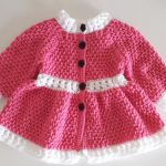 Crochet A Spring Coat For Girls
