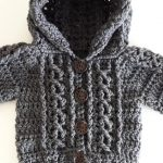 Crochet Lovely Hoodie For Baby