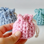 How To Crochet Tiny Bag In All Sizes