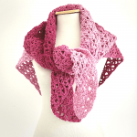 How To Crochet Super Fast And Easy Shawl