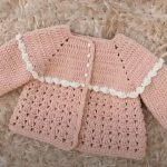 Crochet Jacket For A Baby Girl