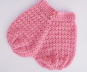 Crochet Shorts For A Baby