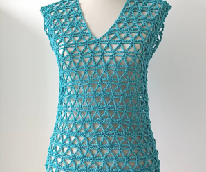 Crochet Vest In All Sizes