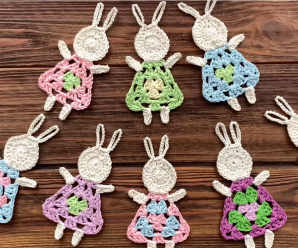 Crochet Bunny For Easter