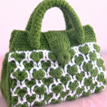Crochet Lovely Bag In Two Colors