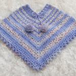 Crochet Lovely Poncho For Children