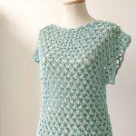 Crochet A Lovely Blouse Easily