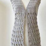 Crochet Stylish Vest Video Lesson