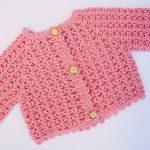 Crochet Baby Jacket For Summer