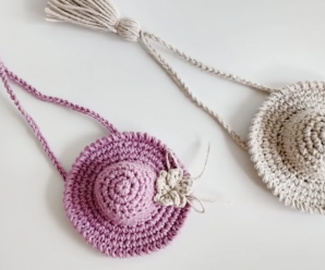 Crochet A Sombrero Hat Key-chain