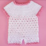 Crochet Beautiful Baby Romper