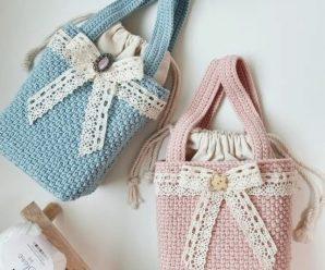 Crochet Lovely Bag Video Lesson