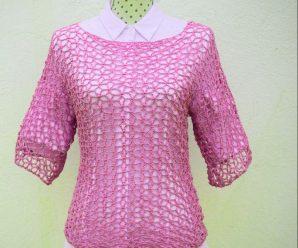 Crochet A Summer Blouse