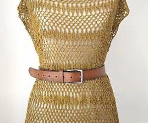 Crochet Lovely Dress In All Sizes