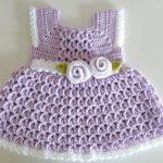 Crochet A Summer Dress For Baby Girl