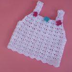 Crochet Summer Top For Baby