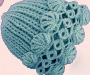 Crochet Lovely Hat For Beginners