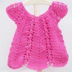 Crochet Easy Dress For Girls