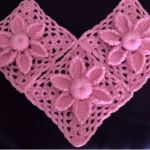 Crochet Beautiful Granny Square With Flower