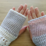 Crochet Fast And Easy Mittens