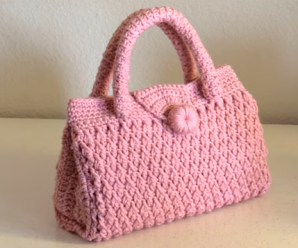 Crochet Beautiful Handbag For Beginners