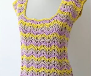 Crochet A Beautiful Blouse In All Sizes