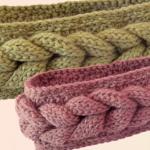 Crochet Headband With Braids For Beginners