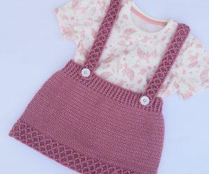 Crochet Fast And Easy Skirt For Baby Girl