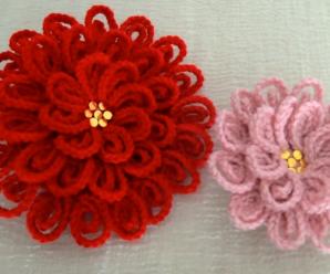Crochet Easy Flower Video Lesson