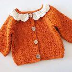 Crochet Beautiful Cardigan For Baby