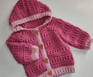 Crochet Beautiful Baby Hoodie